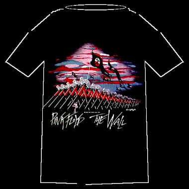 The Wall Marching Hammers Pink Floyd Men/'s Tee